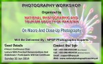 Photography Workshop In Lahore Pakistan On Macro And Close-Up Photography In Pakistan